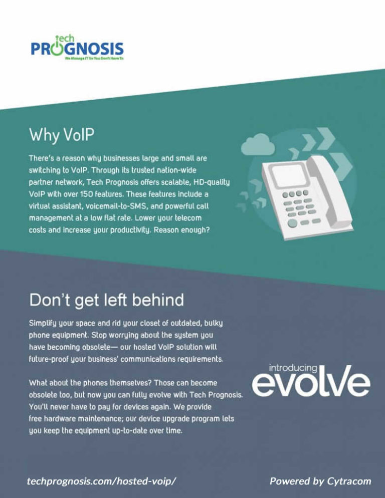 Why VoIP Datasheet